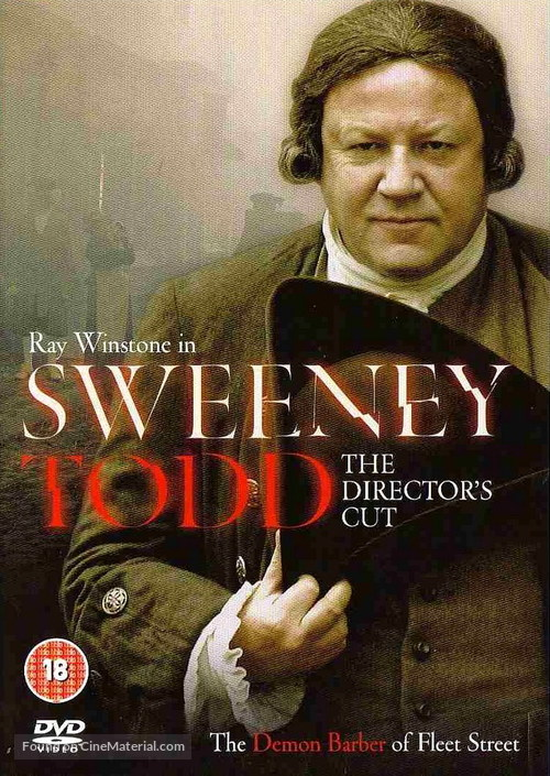 Sweeney Todd - DVD movie cover