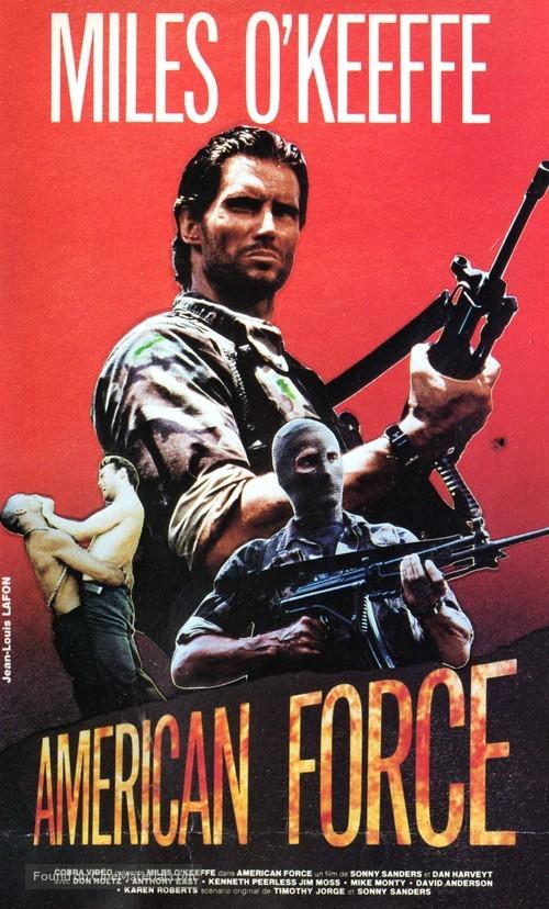 Phantom Raiders - French VHS movie cover