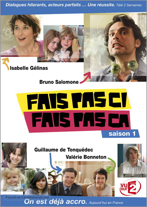 """""""Fais pas ci, fais pas ça"""" - Movie Cover"""