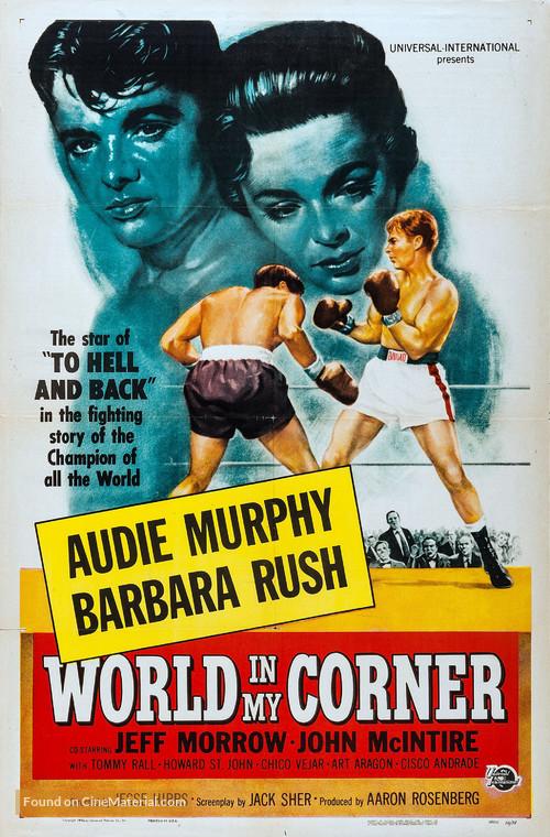 World in My Corner - Movie Poster