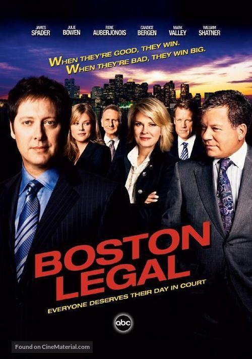 """Boston Legal"" - Movie Poster"