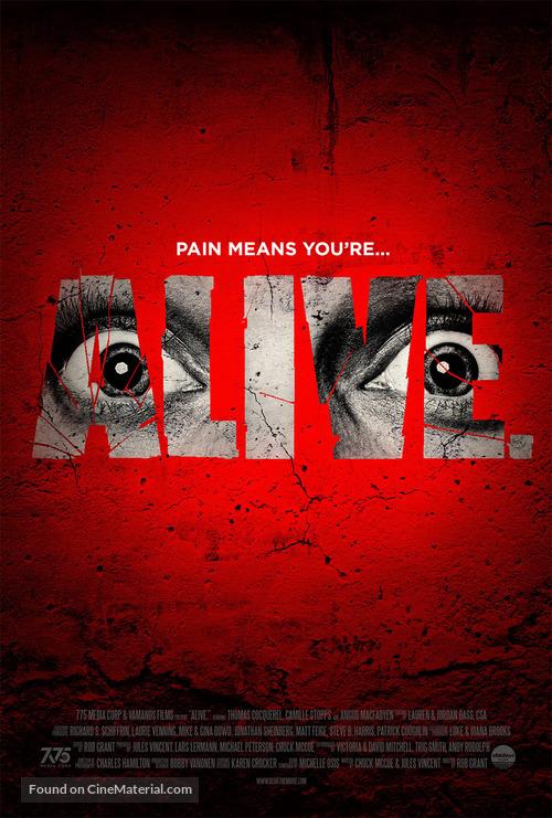 Alive - Movie Poster