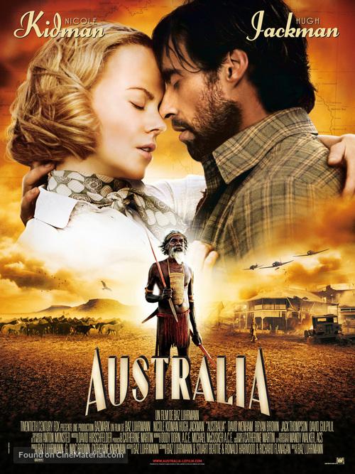 Australia 2008 French Movie Poster