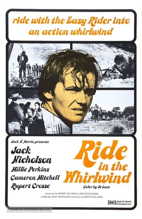 Ride in the Whirlwind - Movie Poster