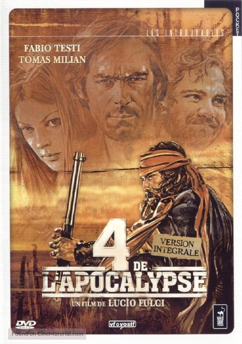 Quattro dell'apocalisse, I - French Movie Cover