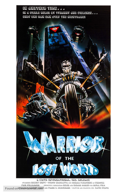 Warrior of the Lost World - Movie Poster