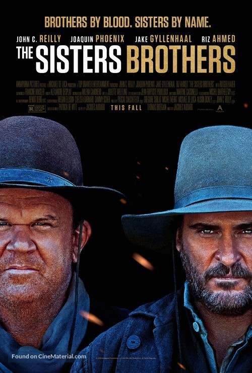 The Sisters Brothers - Movie Poster