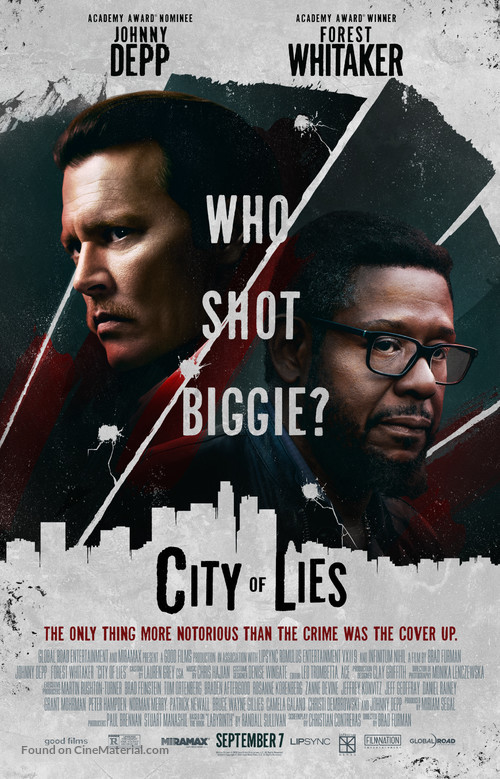 City of Lies - Movie Poster