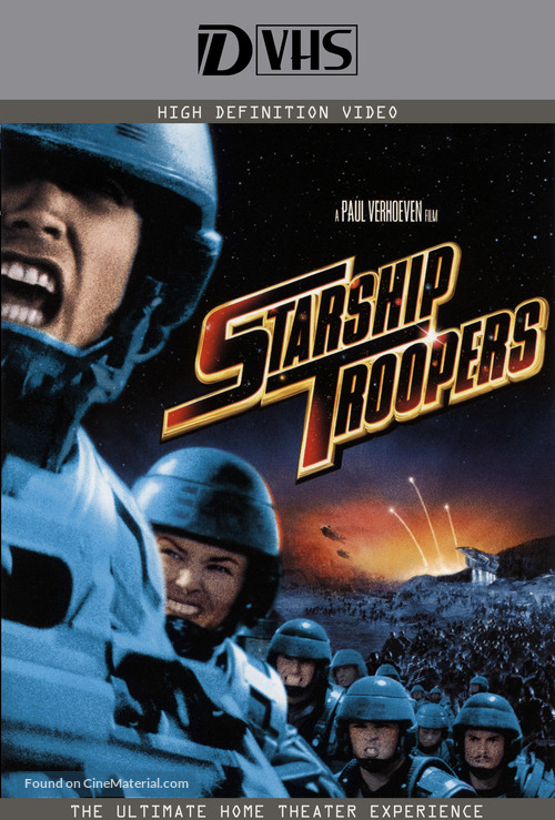 Starship Troopers - VHS movie cover