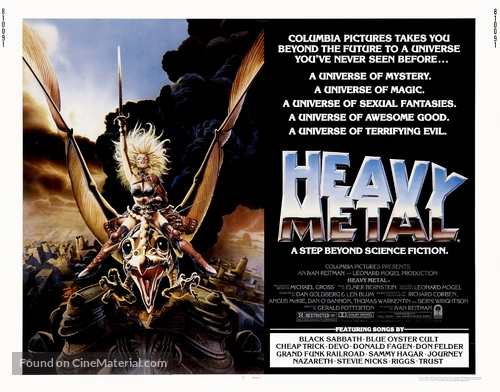 Heavy Metal 1981 Movie Poster