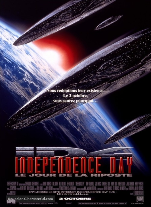 Independence Day - French Movie Poster