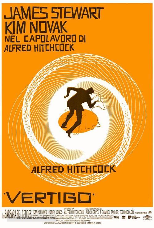 Vertigo - Italian Movie Poster
