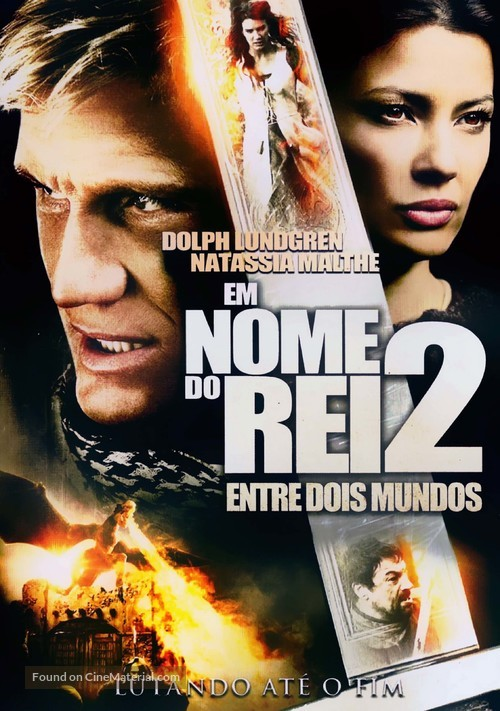 In the Name of the King: Two Worlds - Brazilian DVD movie cover