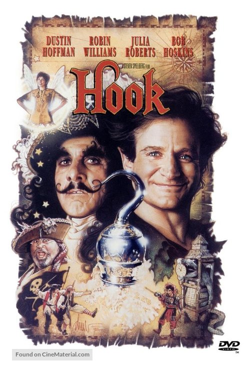 Hook - DVD movie cover