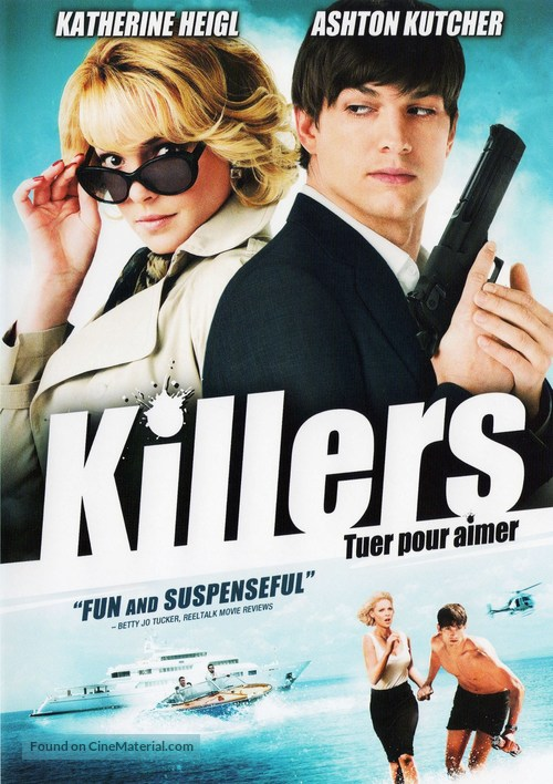 Killers - Canadian DVD movie cover