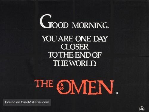 The Omen - British Movie Poster