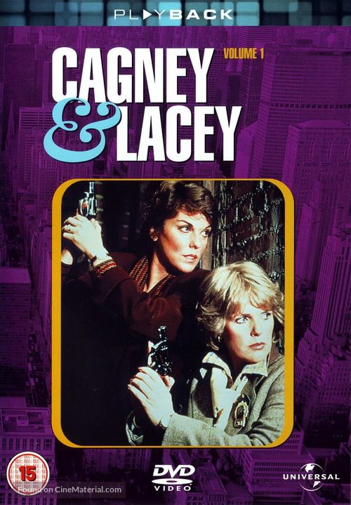 """""""Cagney & Lacey"""" - Movie Cover"""