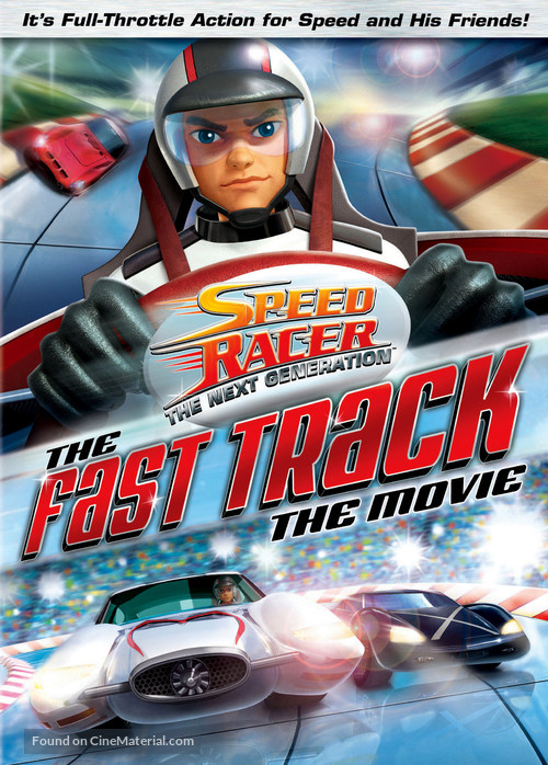 """""""Speed Racer: The Next Generation"""" - DVD movie cover"""