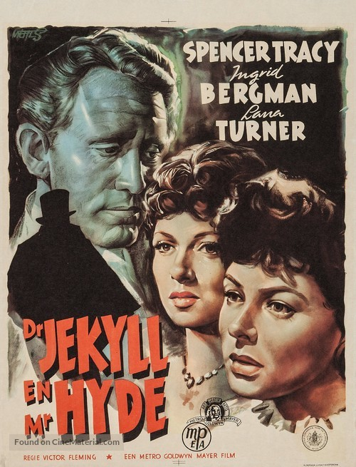 Dr. Jekyll and Mr. Hyde - Dutch Movie Poster
