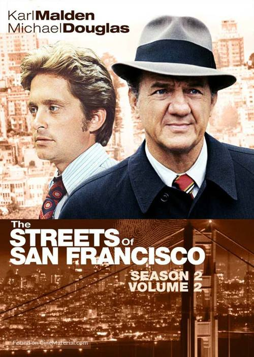 """""""The Streets of San Francisco"""" - DVD movie cover"""