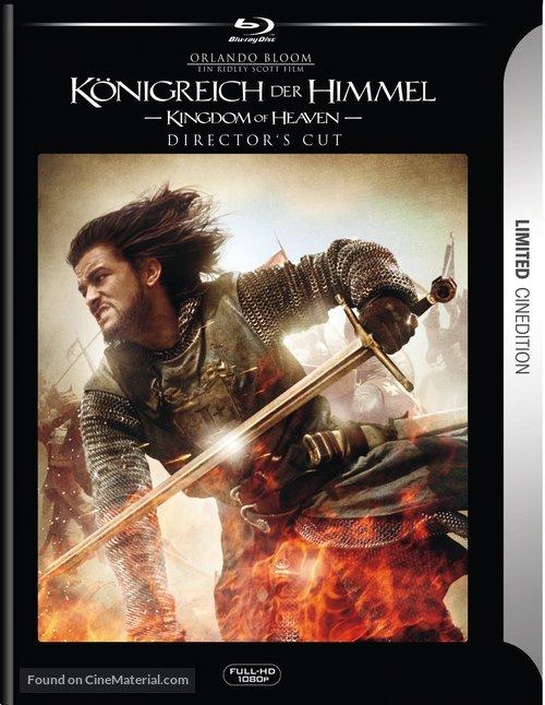 Kingdom Of Heaven 2005 German Movie Cover