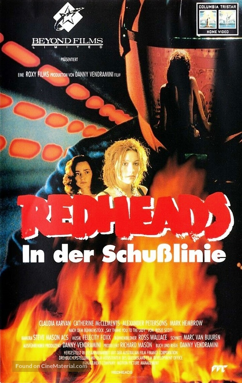 Redheads - German VHS movie cover