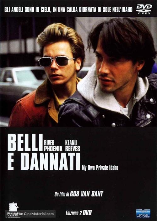 My Own Private Idaho - Italian DVD movie cover
