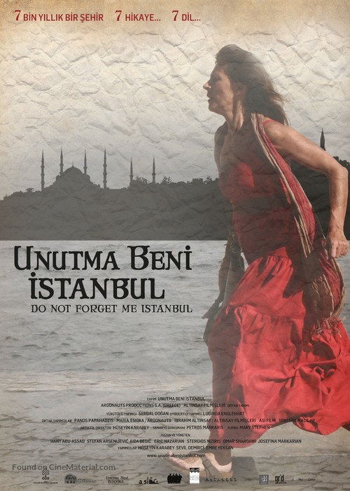 Do Not Forget Me Istanbul - Turkish Movie Poster