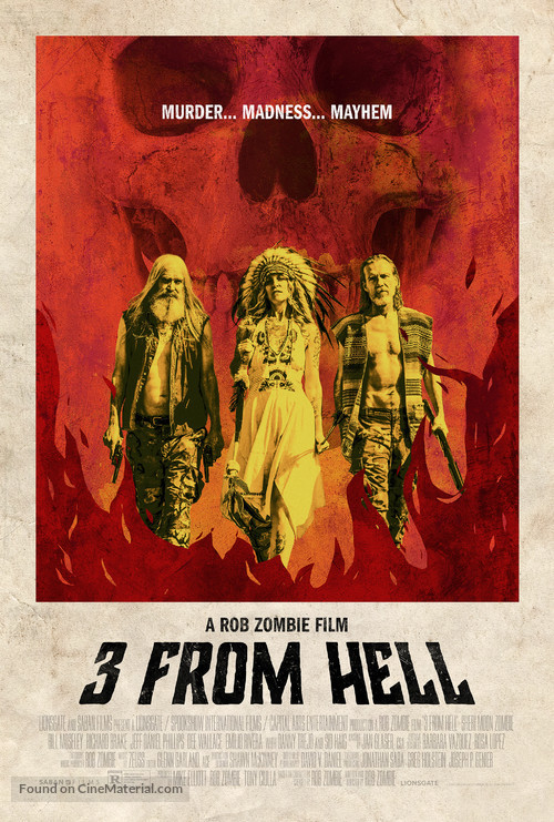 Three From Hell - Movie Poster