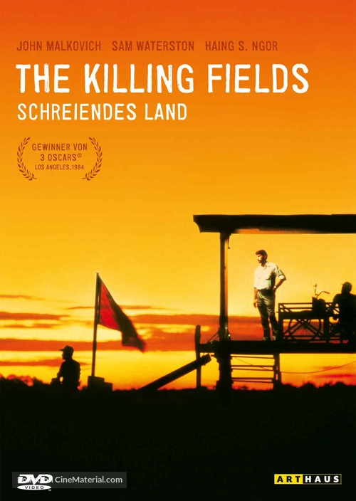 The Killing Fields - Swiss DVD movie cover
