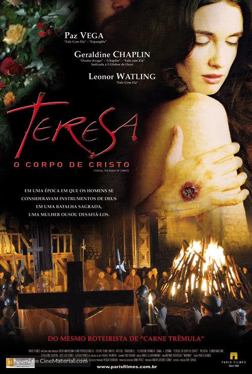 Teresa, el cuerpo de Cristo - Brazilian Movie Poster