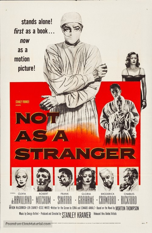 Not as a Stranger - Movie Poster