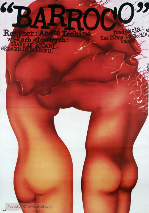 Barocco - Polish Movie Poster