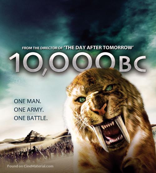 10 000 Bc 2008 British Movie Poster
