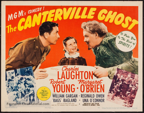 The Canterville Ghost (1944) movie poster