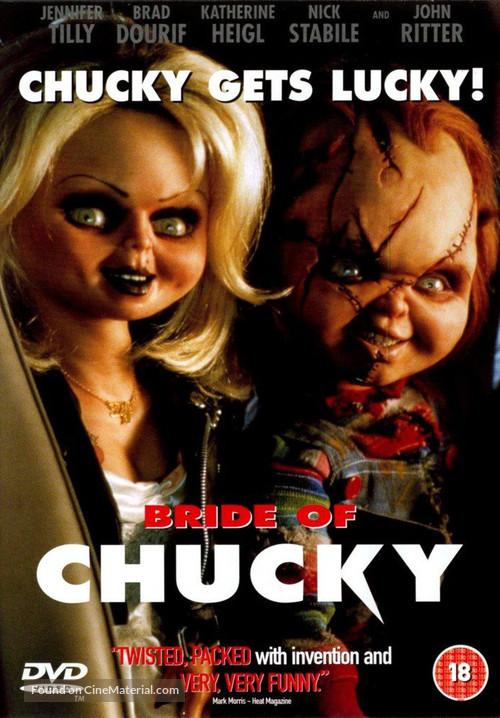 Bride of Chucky - British DVD movie cover