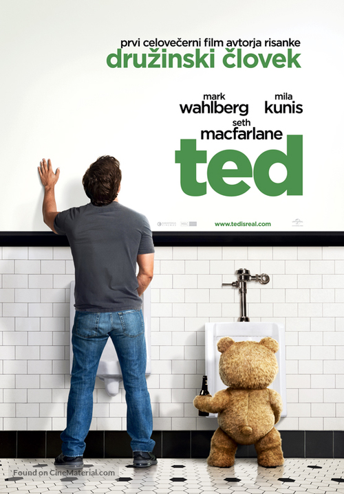 Ted - Slovenian Movie Poster