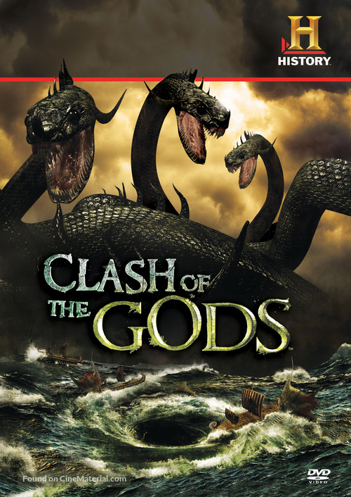 """""""Clash of the Gods"""" - DVD movie cover"""