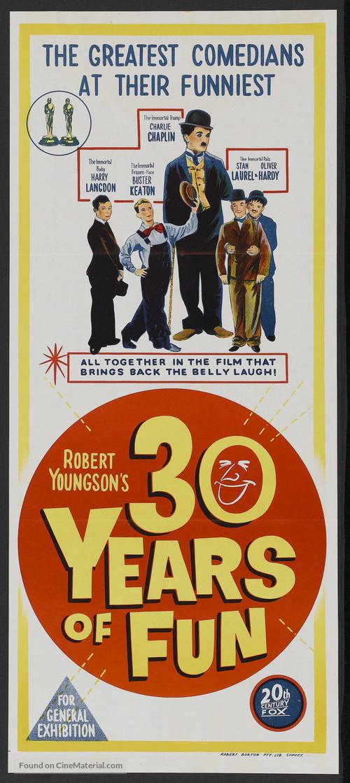 30 Years of Fun - Australian Movie Poster