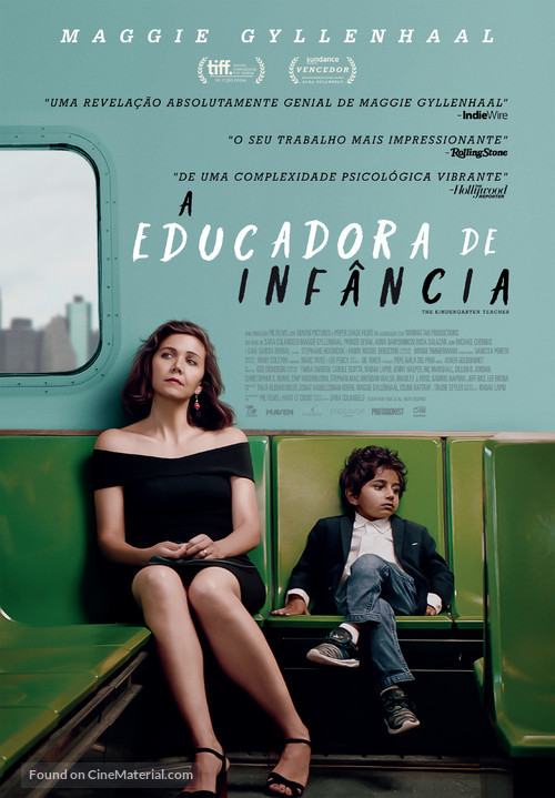 The Kindergarten Teacher - Portuguese Movie Poster