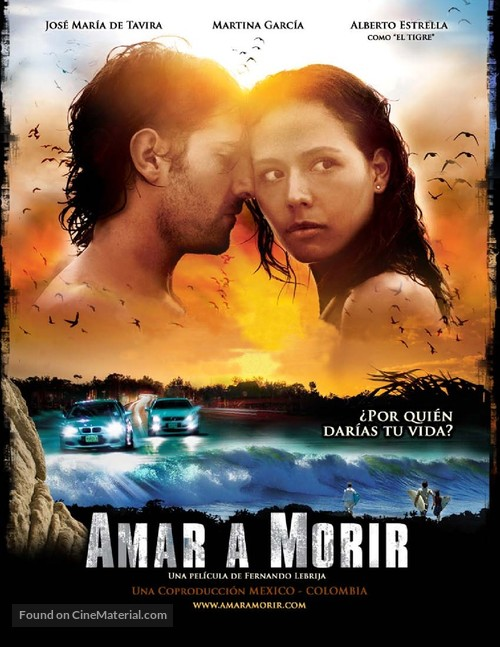Amar a morir - Colombian Movie Poster