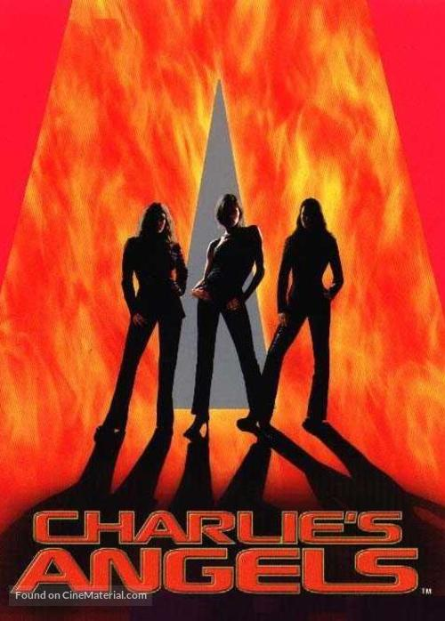 Charlie's Angels - DVD movie cover