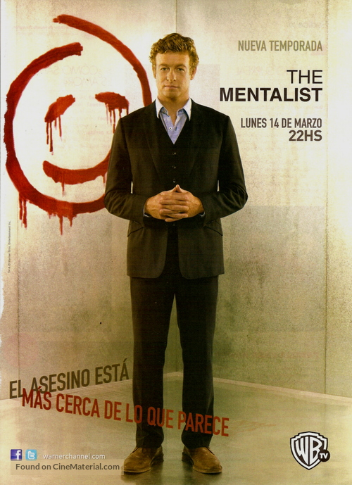 The Mentalist Argentinian Movie Poster