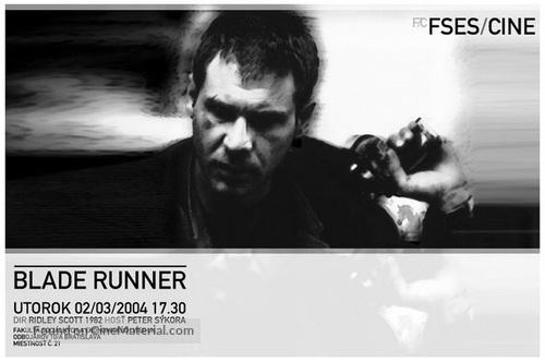 Blade Runner - Slovak poster