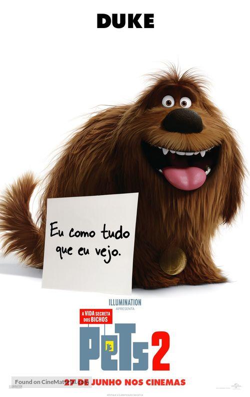 The Secret Life of Pets 2 - Brazilian Movie Poster