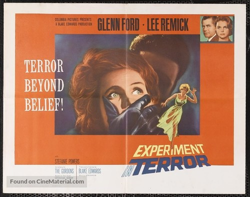 Experiment in Terror - Movie Poster