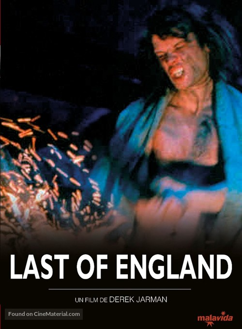 The Last of England - French Re-release poster