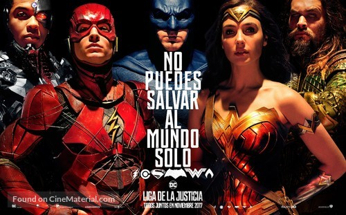Justice League - Argentinian Movie Poster