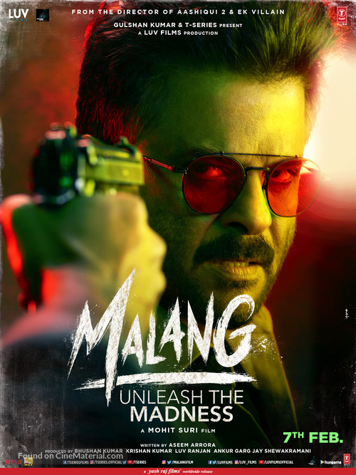 Malang 2020 Indian Movie Poster