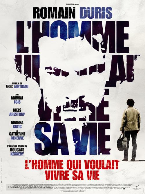 L'homme qui voulait vivre sa vie - French Movie Poster